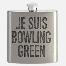 Cute Bowling green Flask