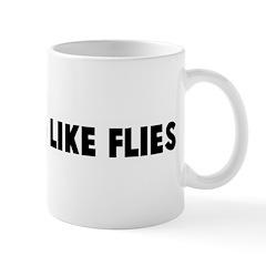 Gathering like flies Mug