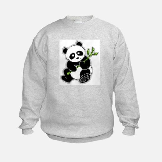 Sitting Panda Bear Sweatshirt