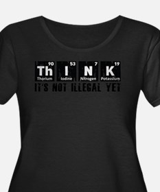 Think Plus Size T-Shirt
