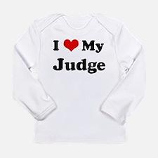 I Love Judge Long Sleeve T-Shirt