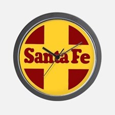 Santa Fe Railway Wall Clock