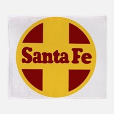 Santa Fe Railway Throw Blanket
