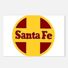 Santa Fe Railway Postcards (Package of 8)