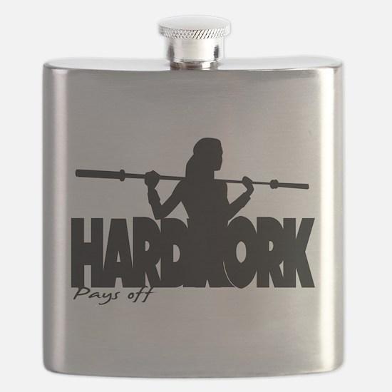 HARDWORK Pays off Flask