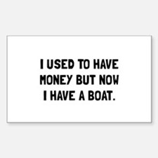 Money Now Boat Decal