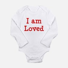 loved Long Sleeve Infant Bodysuit