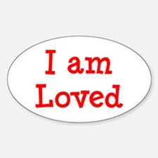 loved Sticker (Oval)