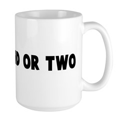 Go a round or two Large Mug