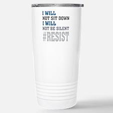 I WILL NOT BE SILENT Stainless Steel Travel Mug