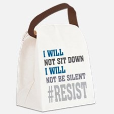 I WILL NOT BE SILENT Canvas Lunch Bag