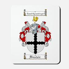 Sinclair Coat of Arms Mousepad