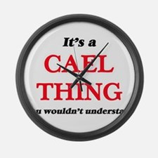 It's a Cael thing, you wouldn Large Wall Clock