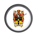 Simmons Coat of Arms Wall Clock
