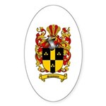 Simmons Coat of Arms Oval Sticker