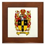 Simmons Coat of Arms Framed Tile
