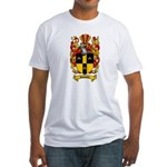 Simmons Coat of Arms Fitted T-Shirt