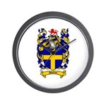 Shelton Coat of Arms Wall Clock
