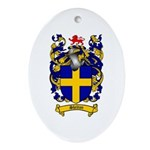 Shelton Coat of Arms Oval Ornament