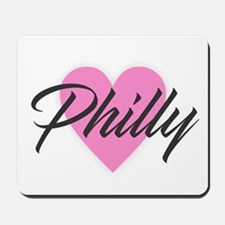 I Heart Philly Mousepad