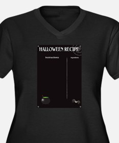 Halloween Recipe Page Plus Size T-Shirt