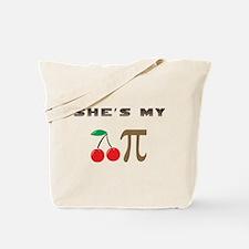 Cherry Pi Tote Bag