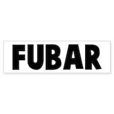 Fubar Bumper Bumper Sticker