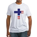 American Christian Fitted T-Shirt