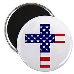 "American Christian 2.25"" Magnet (100 pack)"