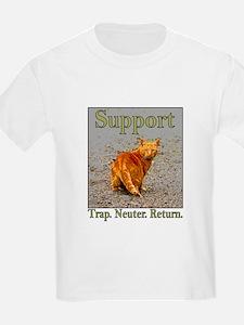 Support Trap Neuter Return T-Shirt