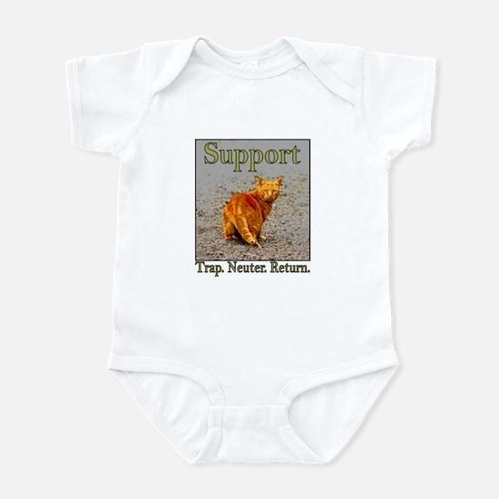 Support Trap Neuter Return Infant Bodysuit