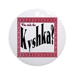 Kyshka Keepsake (Round)