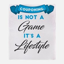 Cute Extreme couponing Throw Blanket