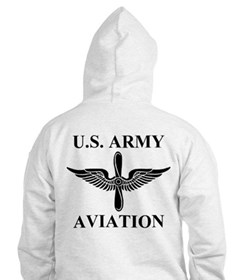 2-Sided Aviation Branch (1) Hoodie