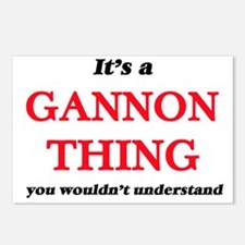It's a Gannon thing, Postcards (Package of 8)