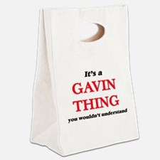 It's a Gavin thing, you woul Canvas Lunch Tote