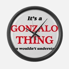It's a Gonzalo thing, you wou Large Wall Clock