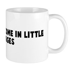 Good things come in little pa Mug