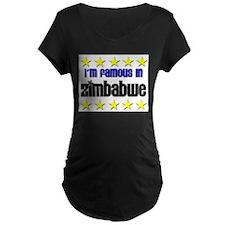 I'm Famous in Zimbabwe T-Shirt