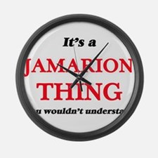 It's a Jamarion thing, you wo Large Wall Clock