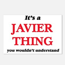 It's a Javier thing, Postcards (Package of 8)