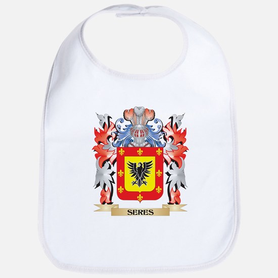 Seres Coat of Arms - Family Crest Baby Bib