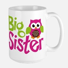 Owl Big Sister Mugs