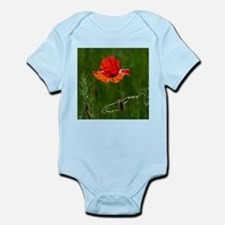 Red poppy in summer Body Suit