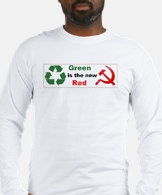 Green New Red 01 Long Sleeve T-Shirt