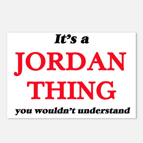 It's a Jordan thing, Postcards (Package of 8)