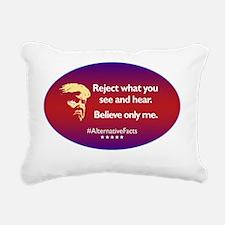 Funny Alternative Rectangular Canvas Pillow