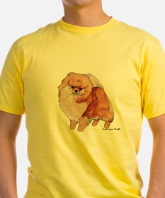 Pomeranian Watercolor T-Shirt