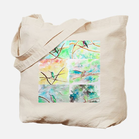 Watercolour Tote Bag