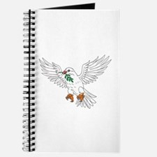 Dove With Olive Leaf Drawing Journal